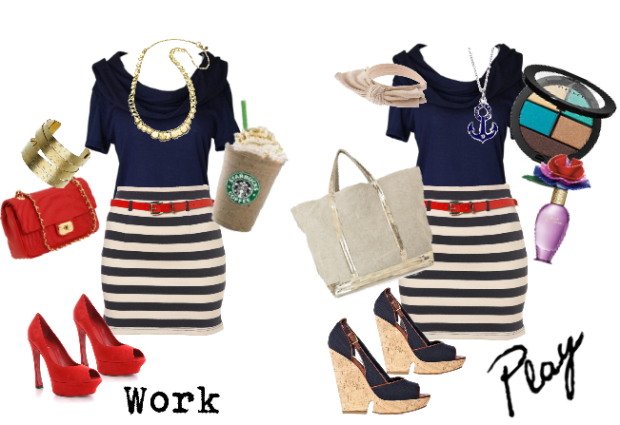 Power woman to nautical chic