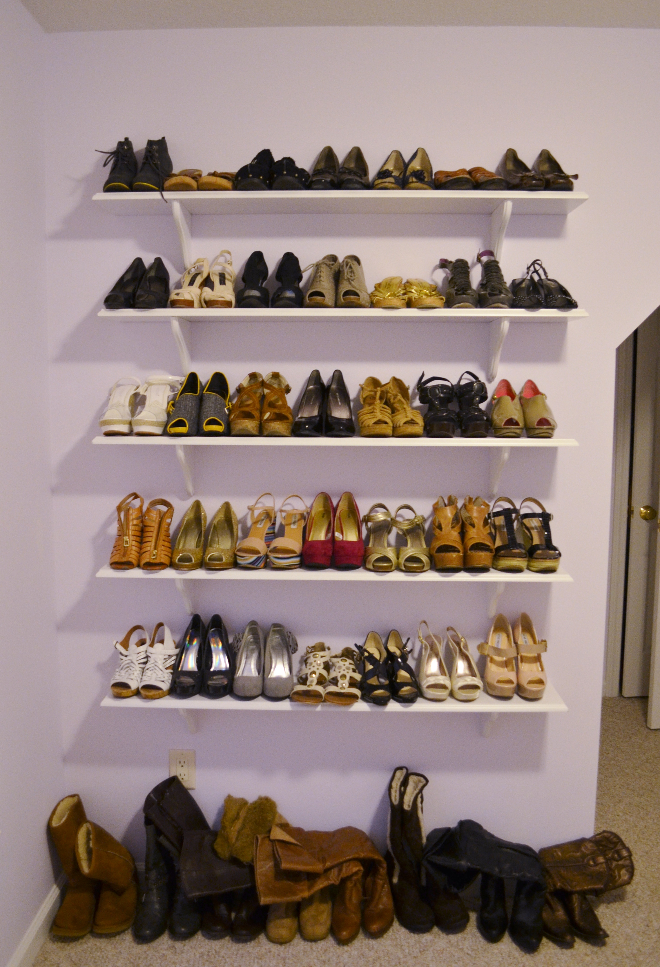 Shoe Shelves Candy Stilettos