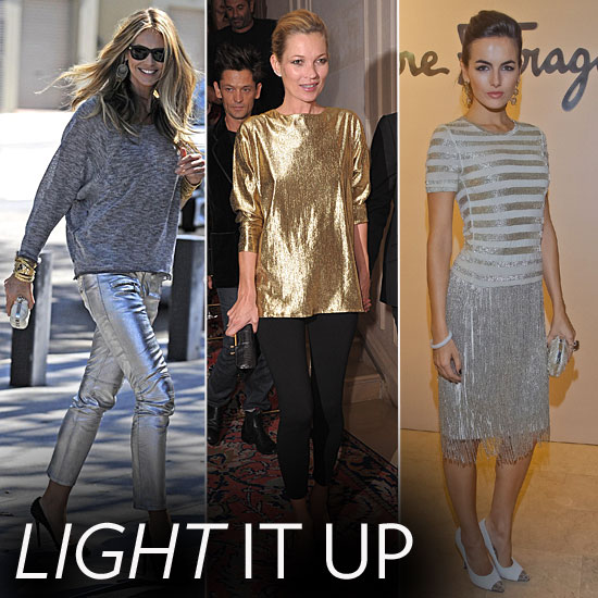 Celebrities-Wearing-Metallics-Fall-2011