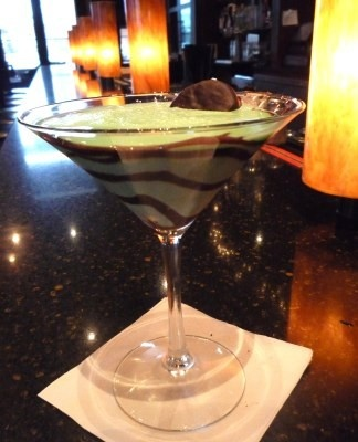 Thin Mint Martini | Candy Stilettos